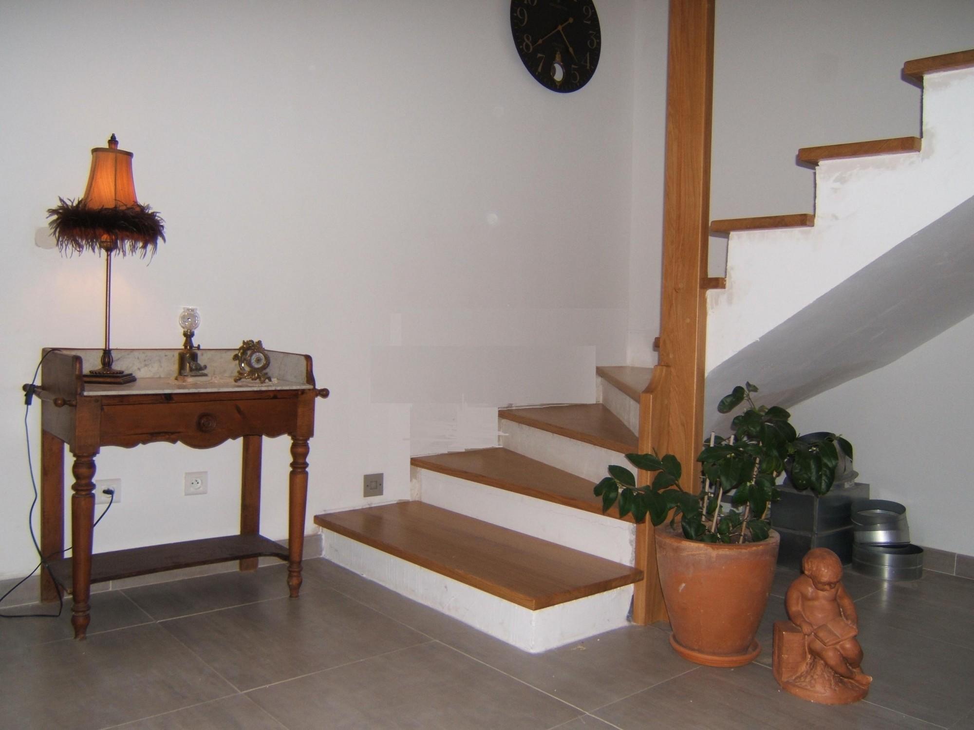 Escalier Interieur Beton Design marches bois sur escalier béton à aubagne - menuiserie md