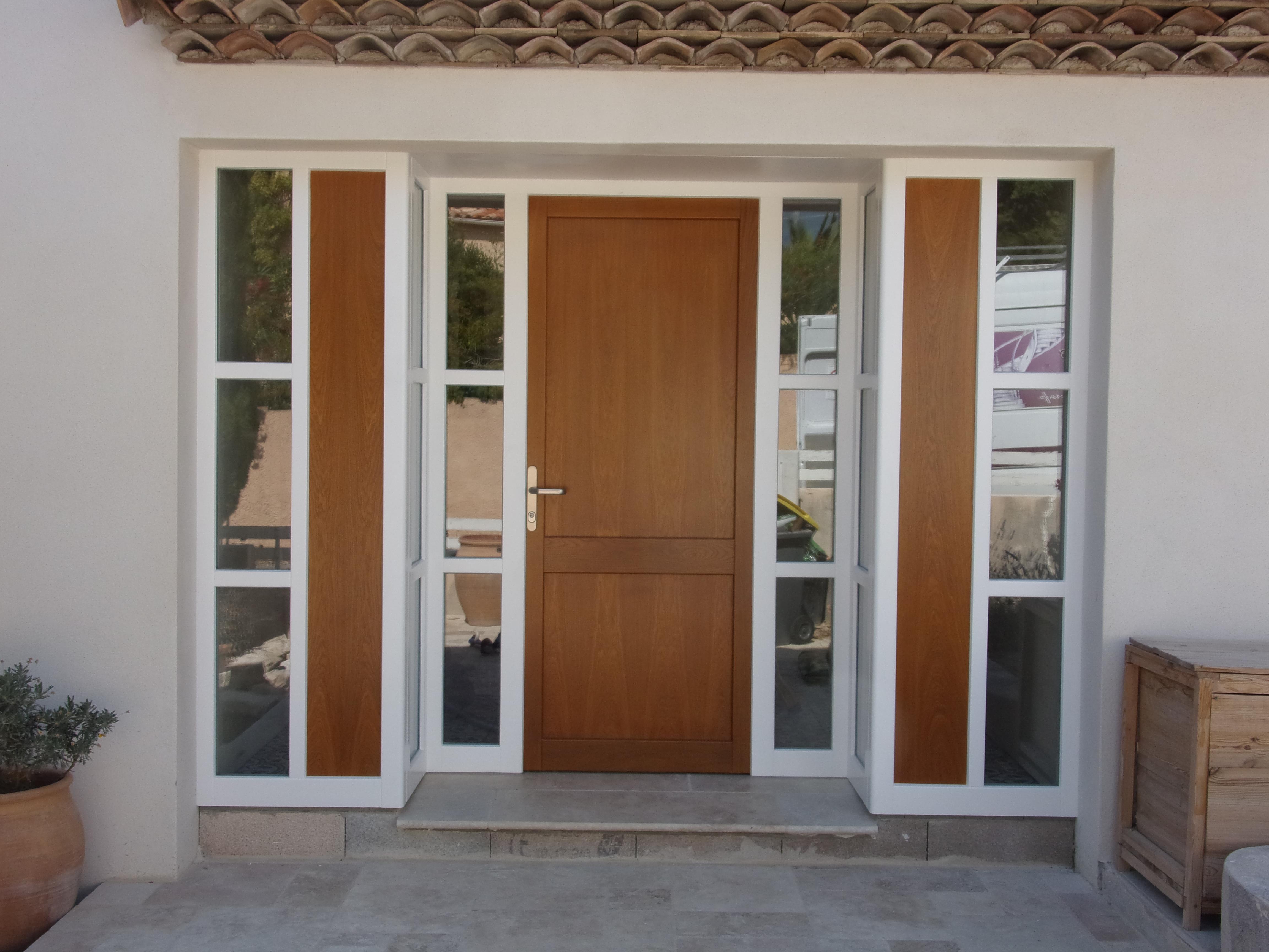 Sas D Entrée Interieur fermeture d'un sas d'entrée par une baie vitrée avec porte d